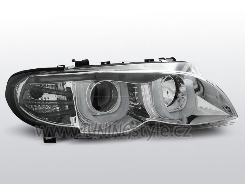 Přední světla angel eyes 3D BMW E46 01-05 sedan/touring ...