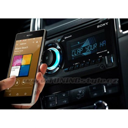 Autorádio SONY, 2DIN s CD, bluetooth, USB, DSEE, DSO WX900BT.EUR