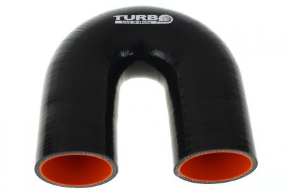 Kolanko 180st TurboWorks Pro Black 63mm