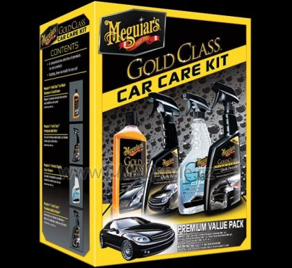Meguiars sada autokosmetiky Gold Class Car Care Kit - DOPRODEJ