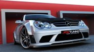 Bodykit + kapota Mercedes CLK W209 02-09 Black Series Look